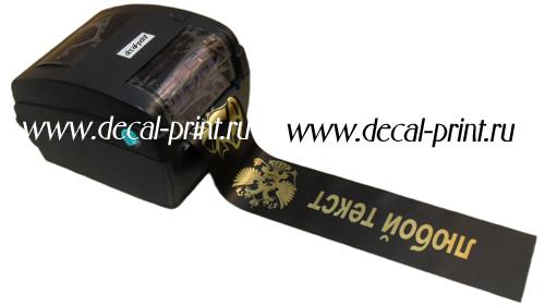 этикет принтер для печати на лентах